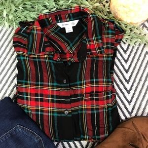 Old navy classic plaid NWT size small